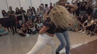 Fernanda Brazilian Zouk Demo 2 at Madrid Zouk Bachata Congress 2019