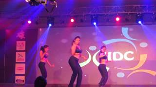 LATIN DANCE INDIA - All Girls Salsa routine