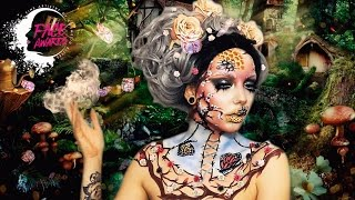 goddess of nature   nyx face awards bulgaria 2017   top 20 challenge   melania yaneva