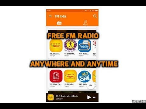 Free Fm Radio Anywhere and Anytime | Online Fm App | Internet Radio Player