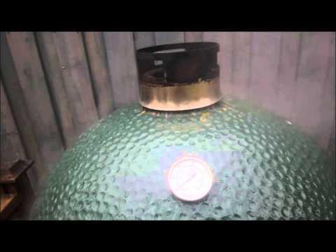 Big Green Egg Burn Off Cleaning
