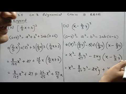 Repeat Part 2 Exercise 3 4 | Chapter 3 Polynomials | Class 9