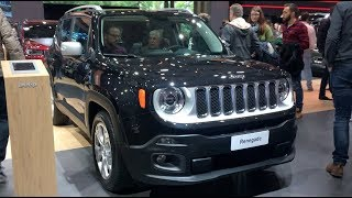 Jeep Renegade 2018 In detail review walkaround Interior Exterior
