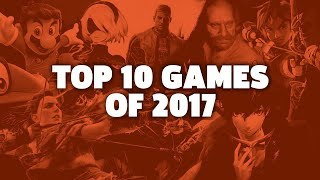 GameSpot's Top 10 Games of 2017