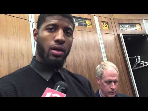 Paul George on their loss to the Warriors and what's contributed to their 3-game skid