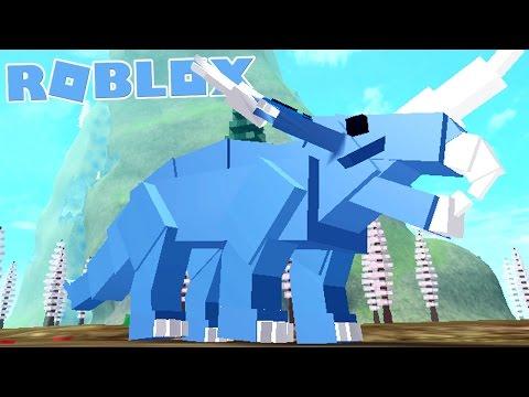 """Dinosaur Simulator (Roblox) - Sobrevivendo a Ameaças, Dragão """"Styracosaurus"""" - (#6) (Gameplay PT-BR)"""