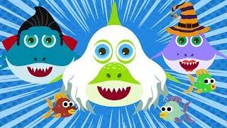 Baby Shark Song Nursery Rhymes Halloween Baby Shark Monsters Nursery Rhymes Songs for Kids