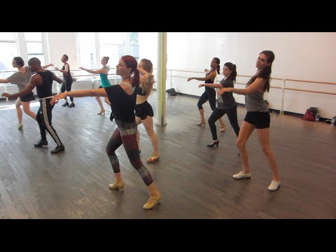 """Ray Hesselink Tap Choreography at Steps """"Begin the Beguine"""""""