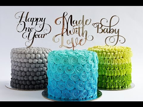 Mini Repetitive Piping Pattern Cake Tutorial- Rosie's Dessert Spot