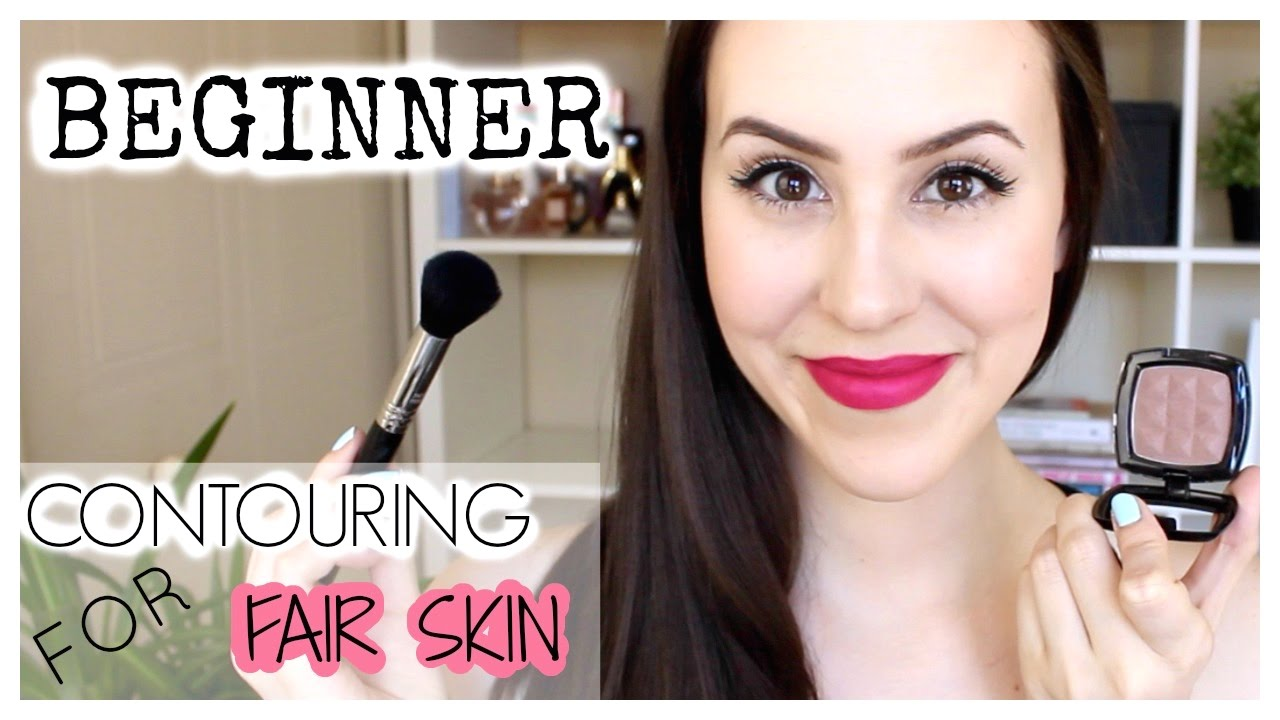 Everyday Natural Contour For Pale Skin + Favourite Brushes