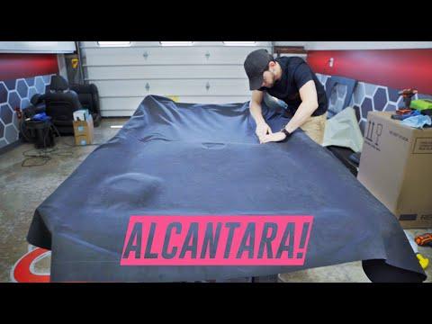Creating A Custom Headliner *Alcantara*