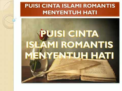 Puisi Puisi Cinta Islami Romantis Menyentuh Hati Youtube