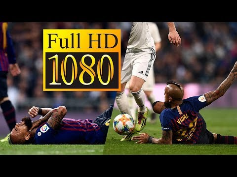Arturo Vidal vs Real Madrid - El Clásico (2/3/19 - Relato Ingles) [HD]