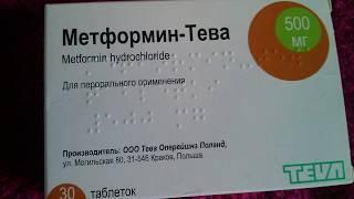 Метформин Тева