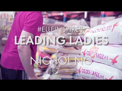 #ELLEInspires: Nichol Ng, co-founder of The Food Bank Singapore | ELLE Singapore