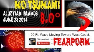 ALASKA QUAKE - NO TSUNAMI - LET