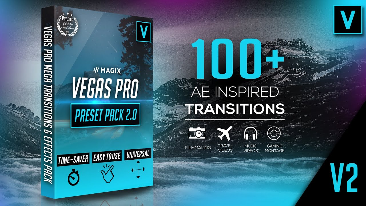 sony vegas 13 transitions pack
