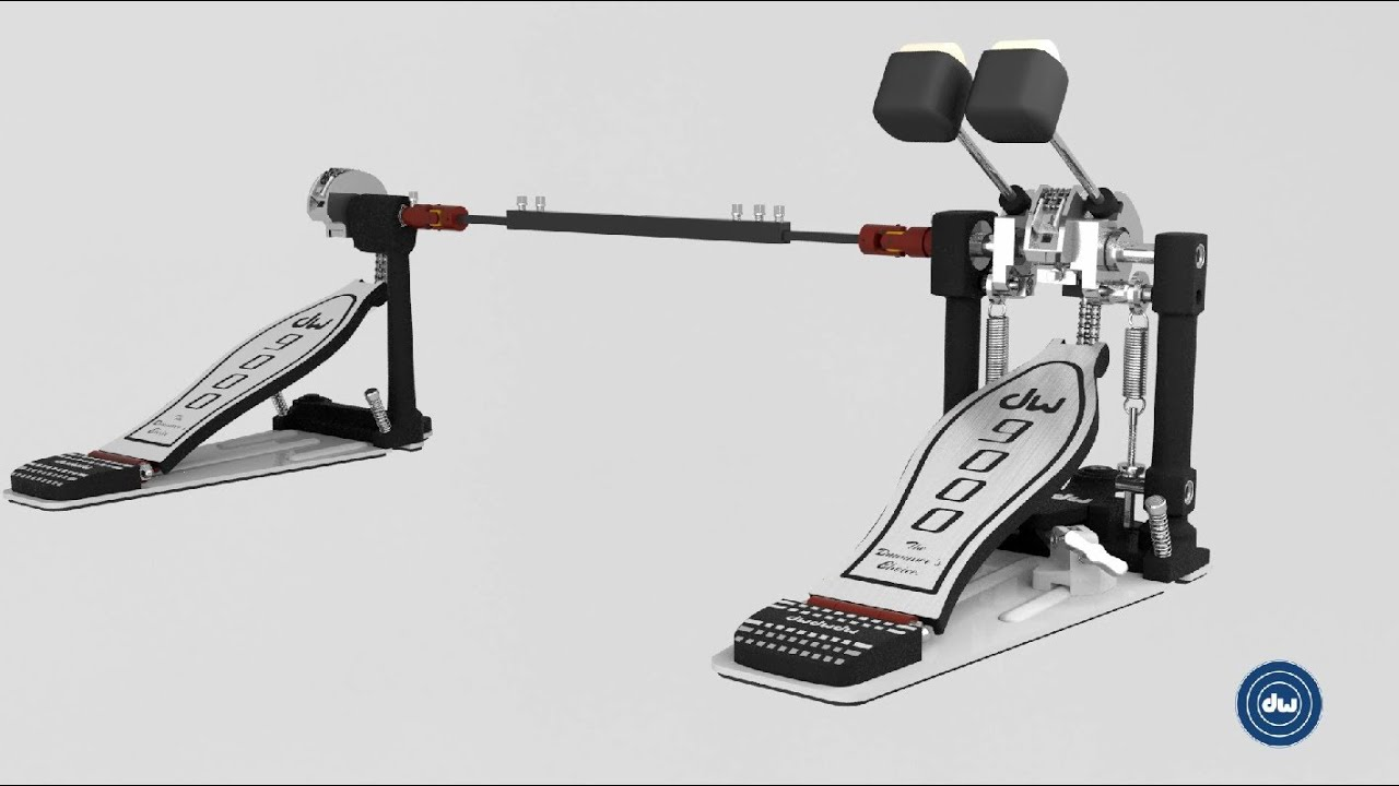 DW 9002 Bass Drum Pedal Features Animation
