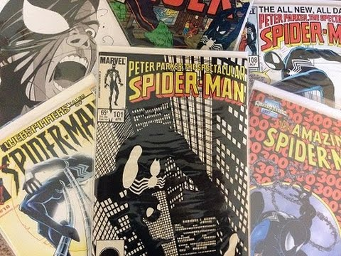 Comic Collection: Black Spider-Man Costume Collection