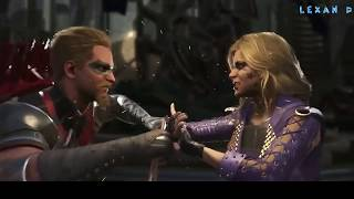 Injustice 2 - Green Arrow vs Black Canary - Intros & Clashes (Стрела против Канарейки) rus