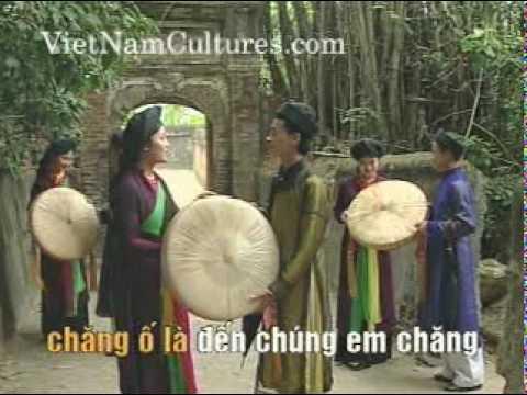 Con nhen giang mung - Quan Ho Bac Ninh