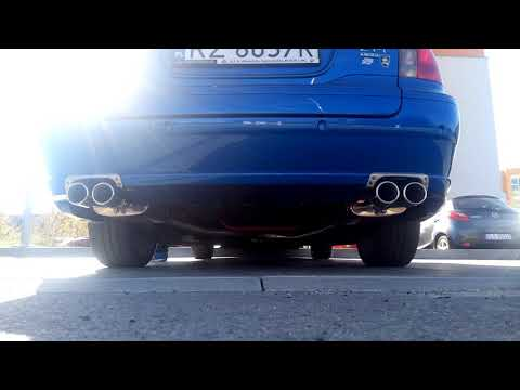 MG ZT-T V6 190 Double Exhaust 1