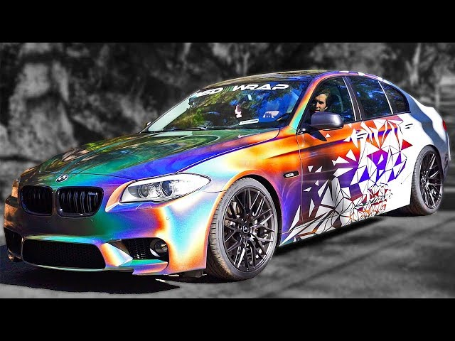 DAD CAR TRANSFORMATION INTO SUPERCAR! *BMW REVEAL*