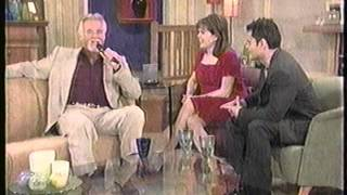 Donny and Marie with Kenny Rogers pt1 sing The Gambler