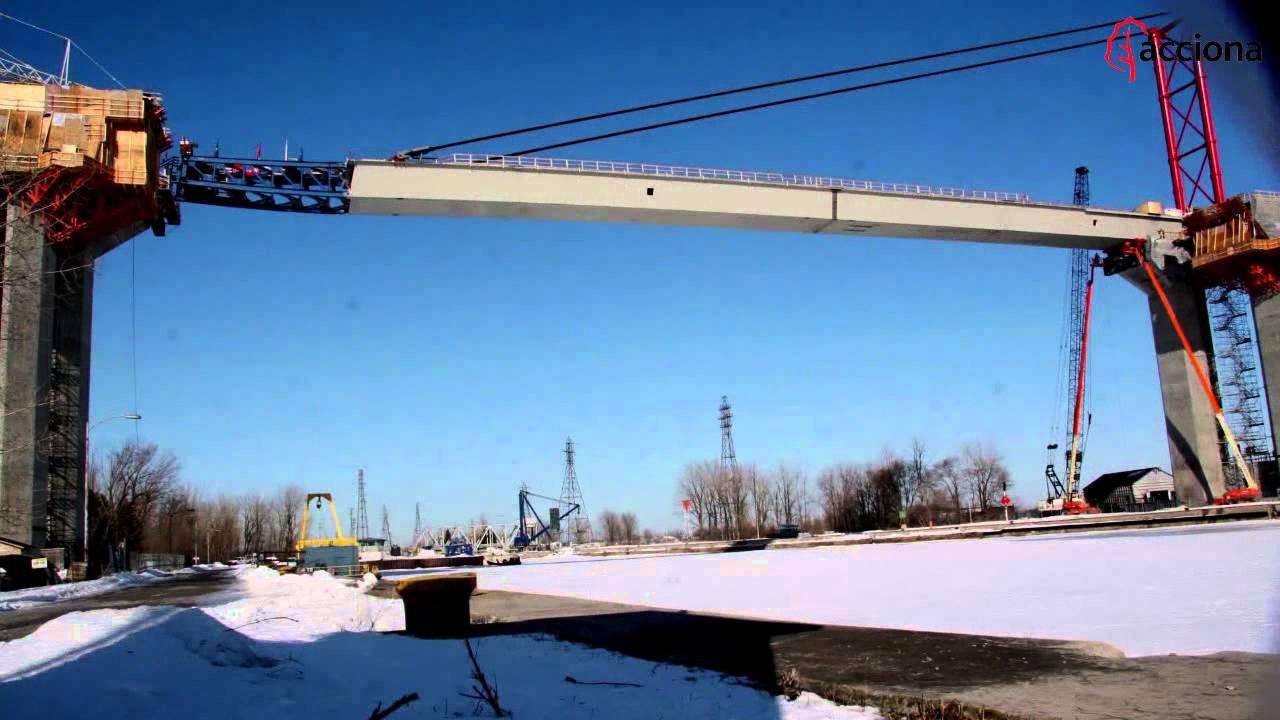 ACCIONA ha construido la A-30 de Québec, Canadá