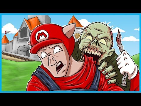 Black Ops 3 Zombies Funny Moments Super Mario 64 Edition! - OH NO!!