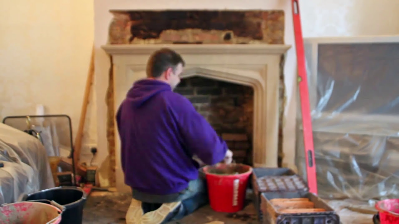 how to install a limestone fireplace mantel u0026 contura 51l wood