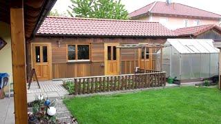 Строительство садового домика, как это было!