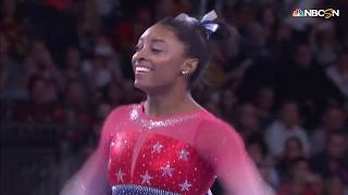 Simone Biles Amazes On Floor at 2019 World Championships