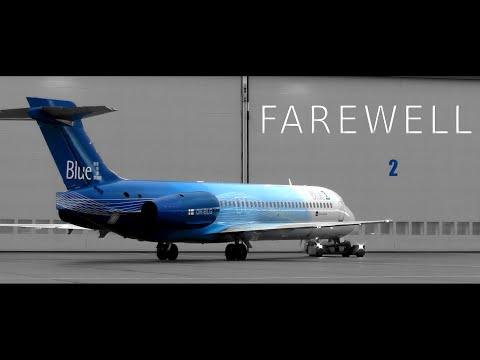 Farewell Blue1 Boeing 717 - end of an era | Aviation Short Film
