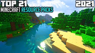 TOP 21 Best Mine¢raft Texture Packs for 2021