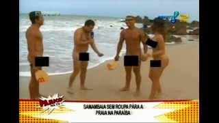 Pânico na TV - Danielle Souza, Mulher Samambaia - Praia de Tambaba