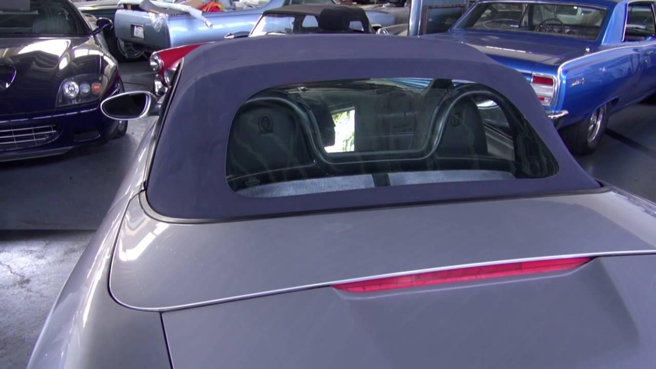 Porsche boxster rear window replacement
