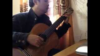 Le Hung Phong -  13 jours en France (OST Winter Sonata) - solo Guitar
