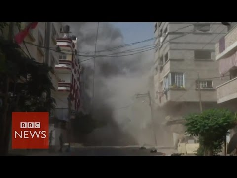 Are Israeli air strike warnings effective? - BBC News