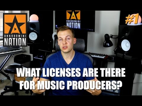 What kind of licenses are there for music producers? | #AskAD 1