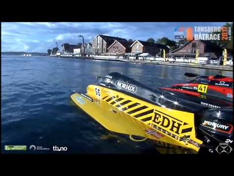 """Tonsberg, Norway Boat Race """"High Speed Boat Race"""" August 4, 2017"""