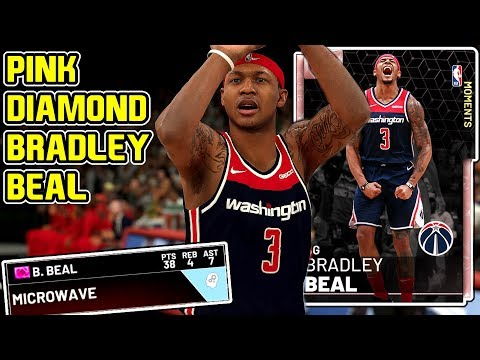 PINK DIAMOND BRADLEY BEAL GAMEPLAY! HE ONLY HAS ONE FLAW! NBA 2k19 MyTEAM