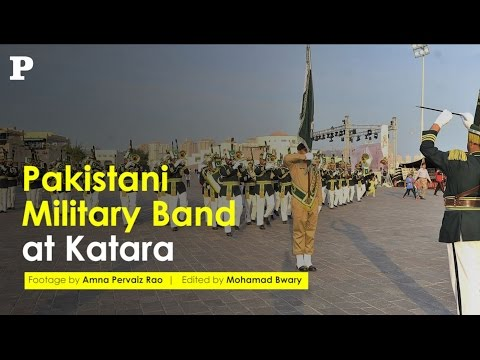 Pakistan Military Band at Katara, Qatar