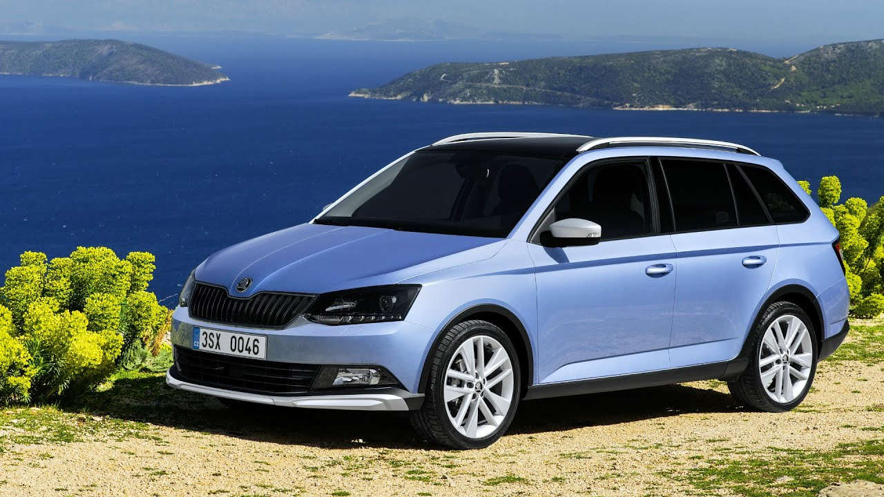 2016 skoda fabia combi scoutline drive and design youtube. Black Bedroom Furniture Sets. Home Design Ideas