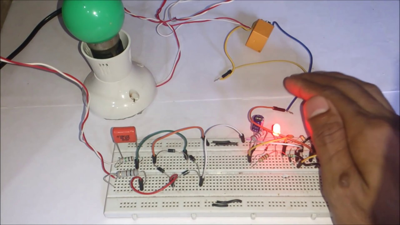 Automatic night light pcb layout - How To Make Automatic Night Light Using Transformerless Power Supply For 220v 120v Ac