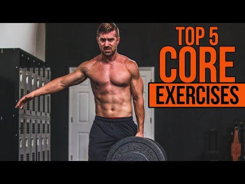 TOP 5 Core Exercises for Men NO Crunches or Sit Ups!