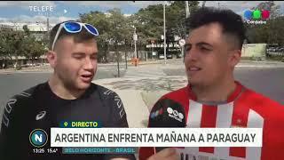Telefe Noticias en la Copa América la ilusión de los hinchas argentinos