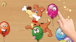 Funny Animals - Puzzles for Kids.