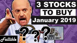 3 Stocks I'm Buying January 2019 | Stock Review