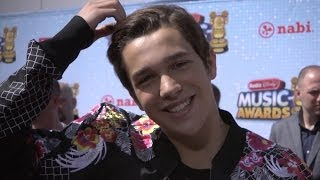 "Austin Mahone Calls Camila Cabello ""Perfect"" Exclusive - Radio Disney Music Awards 2014"